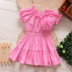 DRESS PINK VINTAGE SZ 2-7TH 6PCS = 525RB