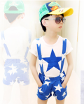 BOYSET BLUE STAR SUSPENDER SZ 1-5T 5PCS = 430RB