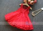 DRESS RED RENDA NECKLACE SZ 90-140 6PCS = 696RB