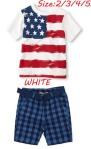 BOYSET USA FLAG SZ 2-7Y 6PCS = 564RB