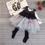 DRESS BLACK TUTU SZ 90-140 6PCS = 762RB