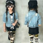 GIRLSET 3IN1 ARMY JEANS SZ 100-150 6PCS = 804RB